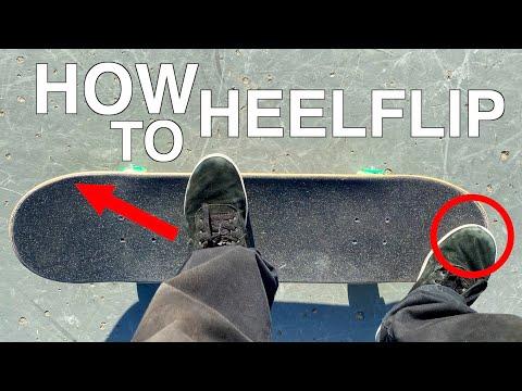 HOW TO HEELFLIP