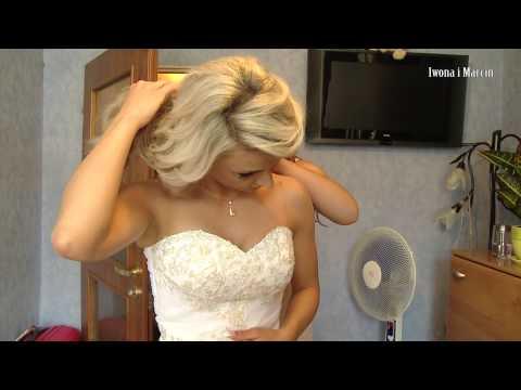 Przygotowania weselne Iwony i Marcina