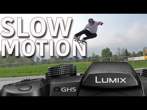 GH5 Skate Slow Motion Test 180 FPS