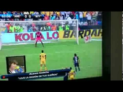 Amrica vs Monterrey 2-1 Penal Liguilla MX mayo 18-2013 Semifinal) -