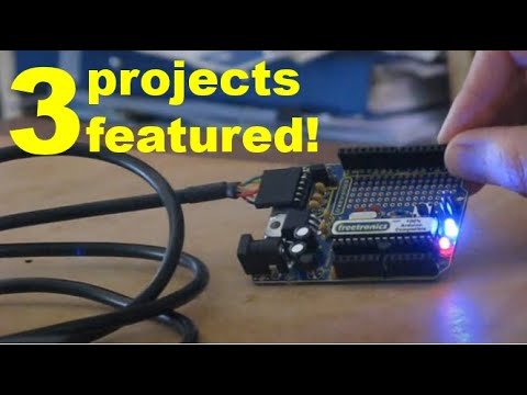 Arduino for amateur radio: experiments with the Freetronics KitTen compatible microcontroller