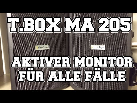 Test&Check: The t.box MA 205 - aktiver Monitor für alle Fälle