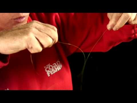 How to tie a twisted loop in your line.
