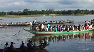 Amazing Boat race at Jamalpur District Part -02 | Nowka Baich (Boat Race) |