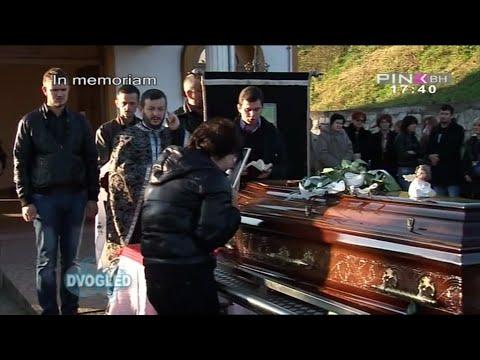 Slađa Guduraš - IN Memoriam i SNIMCI SA SAHRANE (Dvogled , TV Pink BH 21.12.2014)