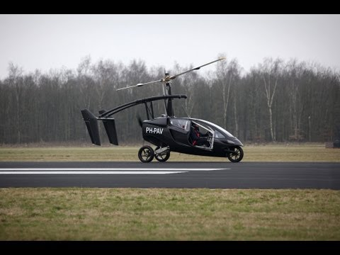 PAL-V the Flying Trike maiden flight