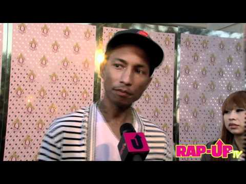 Pharrell Talks Qream Liqueur, Working with Odd Future