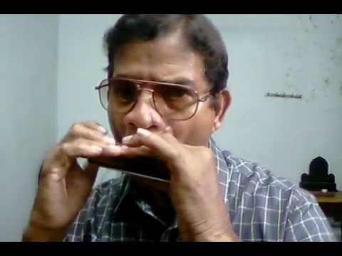 Gaadi bula rahi hai - on harmonica by Suhas Naik