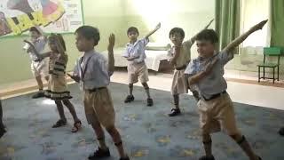 Dance class at F block Palam Vihar, Best Preschool in Palam Vihar