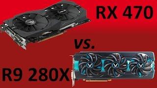Benchmark 1080p |Asus RX 470 8GB vs Vapor-X R9 280X 3GB|Battlefield 1, Witcher 3, Civilization VI