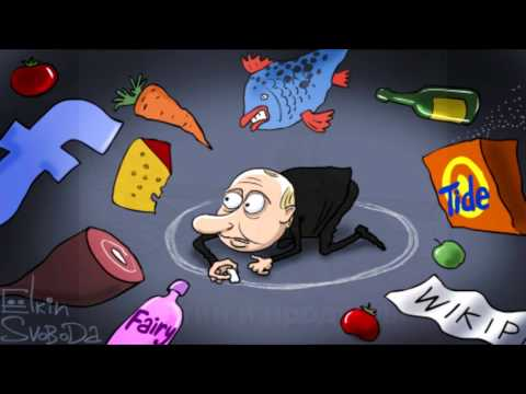 🎨 Карикатуры на Владимира Путина