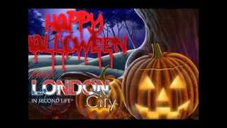 London in Second Life. Halloween 2015