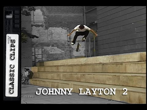 Johnny Layton Skateboarding Classic Clips #209 Part 2