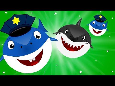 Scary flying Shark vs Police Shark | Videos for kids Songs