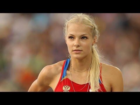 чемпионка мира российская прыгунья в длину - Дарья Клишина документальный фильм