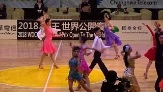 00090 2018 舞王世界公開賽 國高中單人 Rumba 初賽