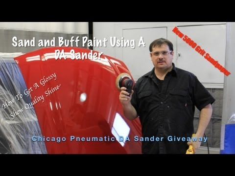 How To Make Glossy Paint Using A DA and Buffing - DA Giveaway