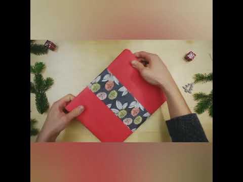 Bücher als Geschenk verpacken: Das perfekte Kleid