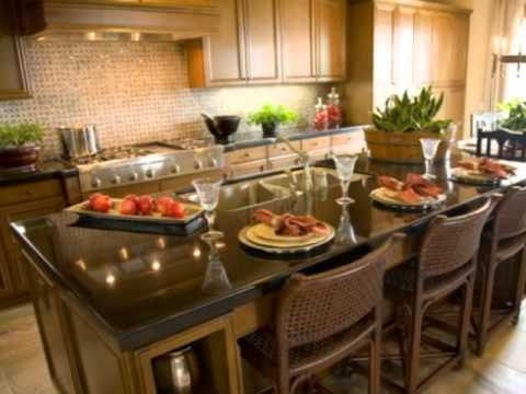 Granite countertop and kitchen ideas from granite direct for Granite countertop kitchen ideas