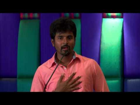 Sivakarthikeyan Convincing Reporters In Press Meet - Redpix 24x7 video