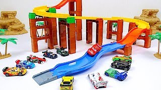 WGP Racers Time Attack Race ! Disney Cars Toys Video for Kids