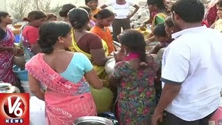 Summer Effect: Hyderabad City People Facing Problems With Drinking Water Scarcity