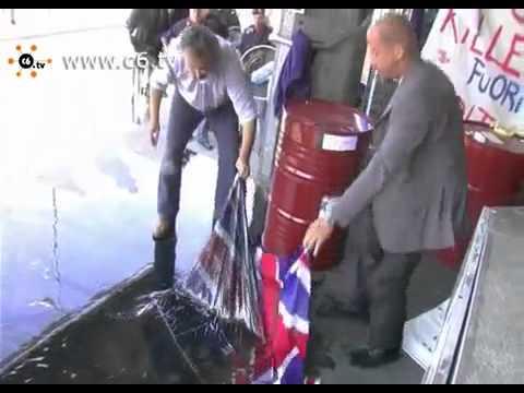 Petrolio sulla bandiera inglese. Blitz contro Bp