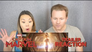 **NEW** Captain Marvel Trailer 2 // Reaction & Review