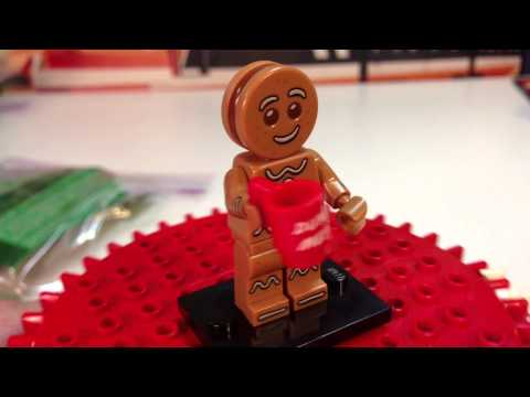 Lego 71002 Series 11 Minifigure #6 Gingerbread Man Bump or Dot Codes