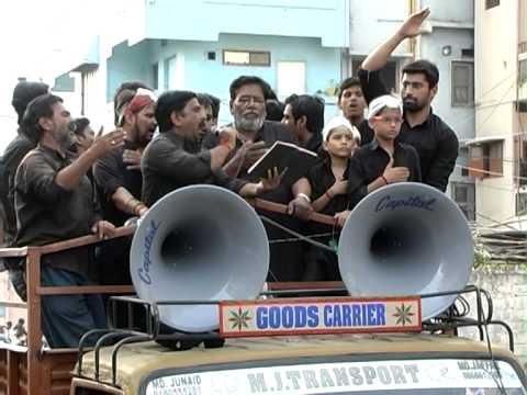 10th Muharram  Ashura Juloos  India Hyderabad 4 November 2014