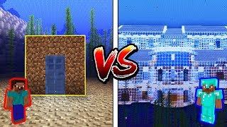 Minecraft NOOB vs. PRO: UNDERWATER BASE in Minecraft!