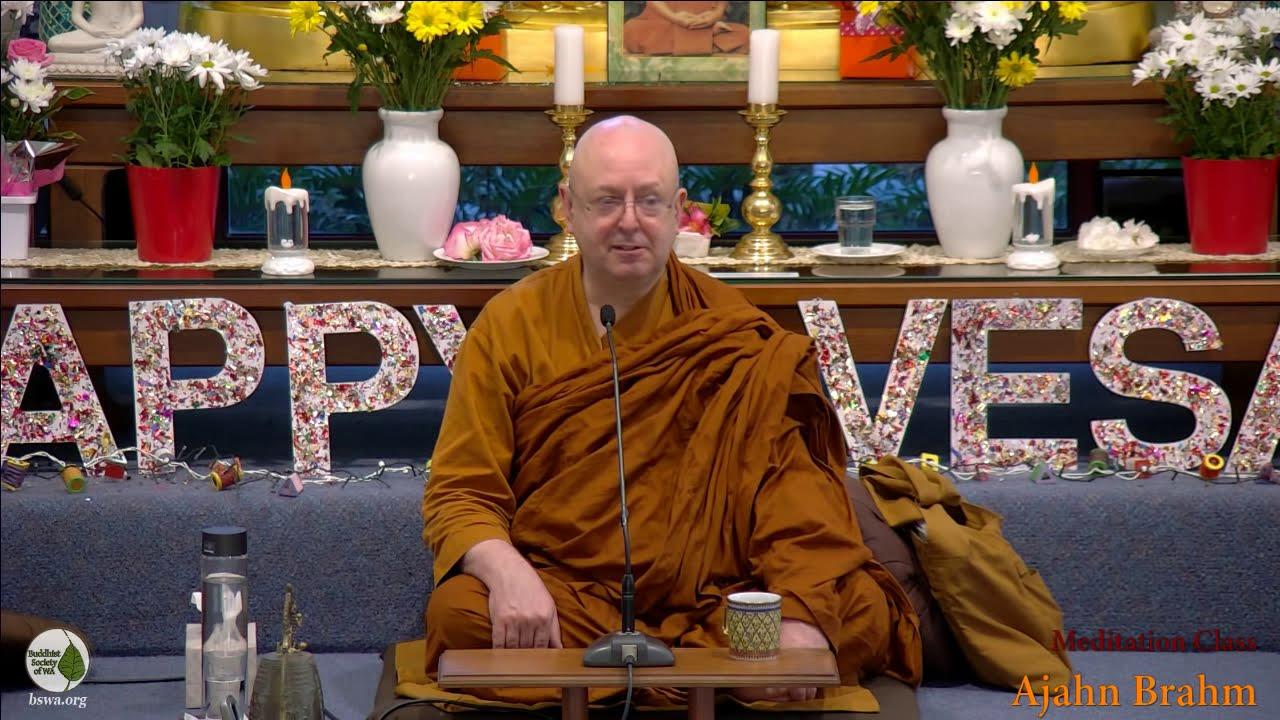Guided Meditation | Ajahn Brahm | 18 May 2019