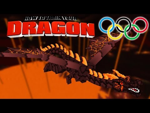 Minecraft - HOW TO TRAIN YOUR DRAGON - Dragon Olympics Day 1! [50]