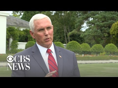 Mike Pence defends staying at Trump property in Doonbeg, Ireland