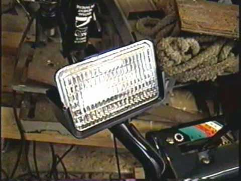 HOW TO FIX THE HEADLIGHT On Your Snowblower