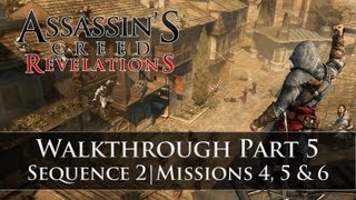 Assassins Creed - Revelations 100% Sync Walkthrough Part 5 (Sequence 2 | Memory 4, 5, & 6)