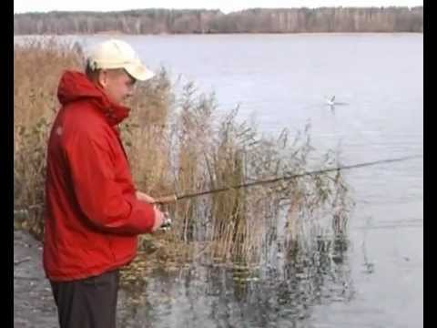 ловля на плавающую резину видео