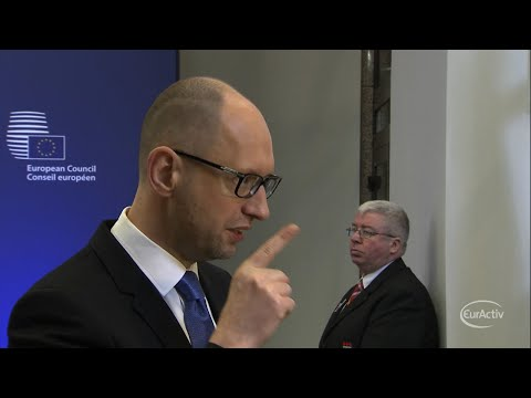 Ukraine urges EU leaders to back peacekeeping mission in Donbas