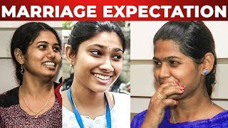 """2 Lakh Rupees Dog Venum"" Chennai Girls Speak on their Marriage & Husband Expectations"