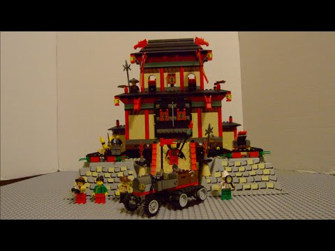 Lego Adventures 7419 Dragon Fortress Vintage Set Review