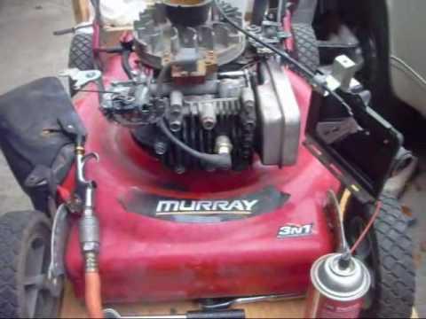 Trash find murray 5hp mower watch me fix it YouTube