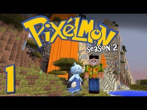 Minecraft Pixelmon S2 - Ep. 1 - A Whole New World! [Pixelmon 3.1.2!]