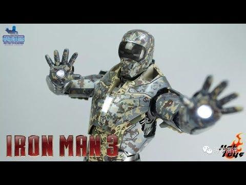 迷彩钢铁侠 Hottoys ironman MK23暗影 HT【涛哥测评】