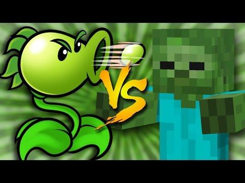 Plants vs Minecraft Zombies