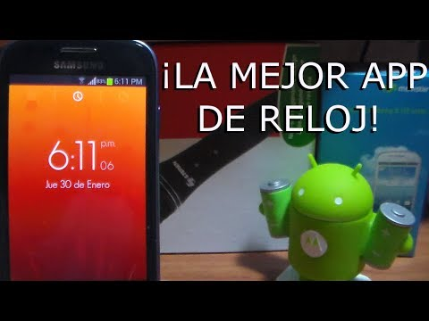 La MEJOR aplicación de RELOJ android | Android Evolution