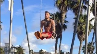 Conor McGregor beach workout [Gymnastic]