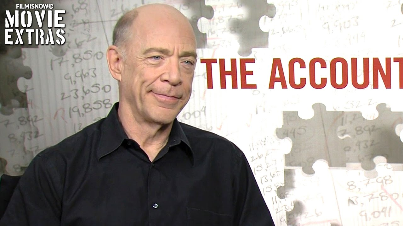 The Accountant (2016) J.K. Simmons talks about his experience making the movie