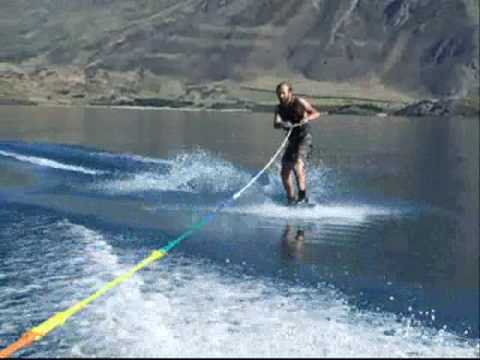 Wacked-Boarding on Lake Wanaka...