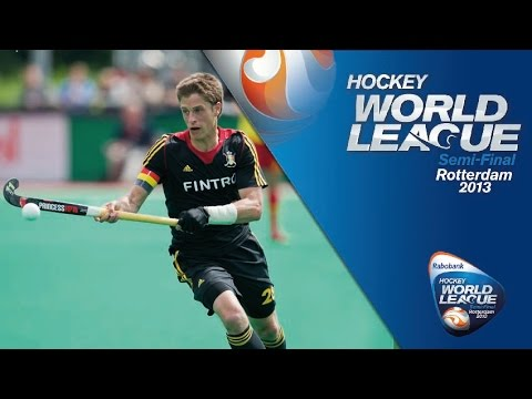 Belgium vs Spain Men's Hockey World League Rotterdam Pool A [17/6/13]