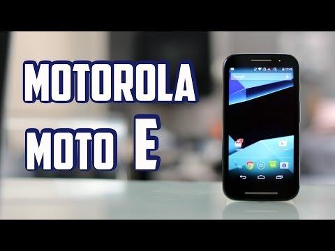 Motorola Moto E. review en Español